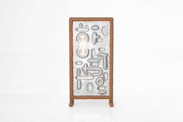 "Aluminum Sigve Knutson, Floor Lamp Model ""2"", Norway, 2019 For Sale"