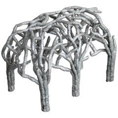 Sigve Knutson Metal Stool