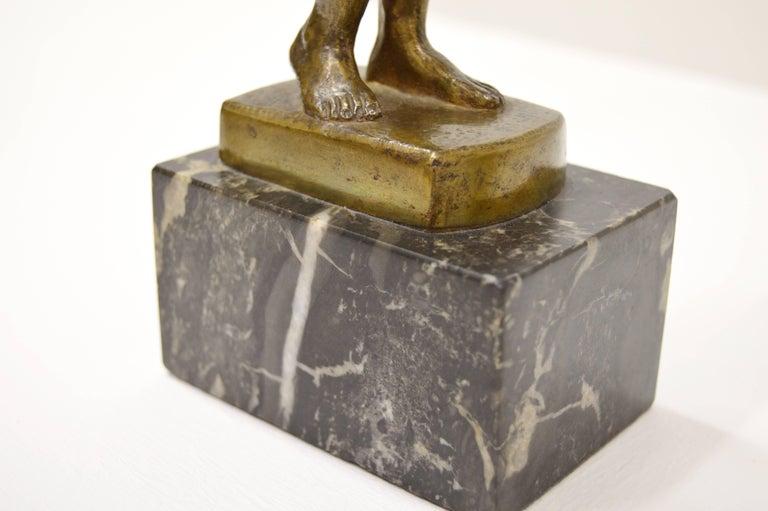 Sigyn by Nils Möllerberg Bronze figurine For Sale 6