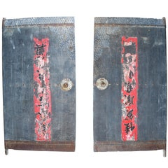 Siheyuan Style Courtyard Doors, Set of Two
