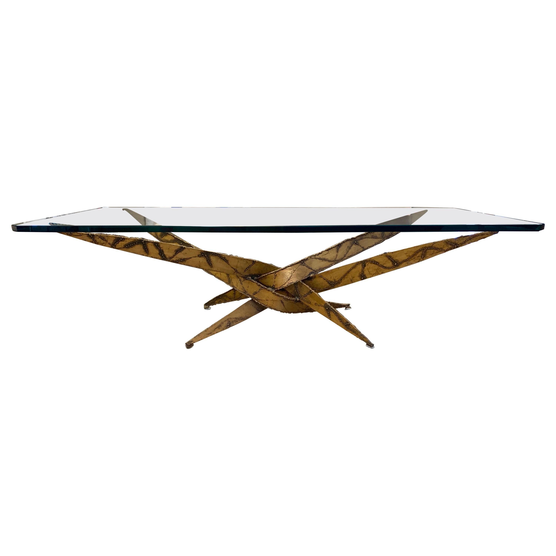 Silas Seandel Brutalist Cocktail Table