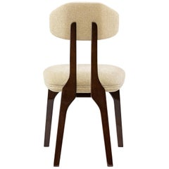 Silhouette Dining Chair, Translucent Brown, InsidherLand by Joana Santos Barbosa