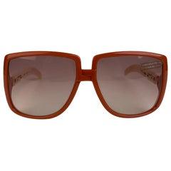 Silhouette Rare Oversized Vintage Pink Large Sunglasses Mod. 3022