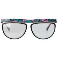 SILHOUETTE Vintage Multicolor Mint Rare Eyeglasses mod. M1269 59mm