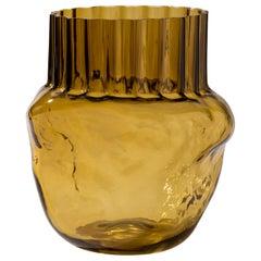 Silice Vase, Blown Glass, Unique 06