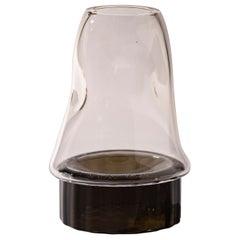 Silice Vase, Blown Glass, Unique 09