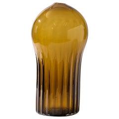 Silice Vase, Blown Glass, Unique 15