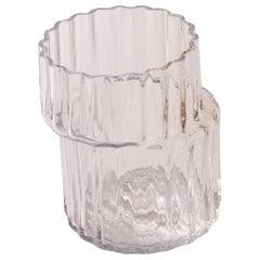 Silice Vase, Blown Glass, Unique 18