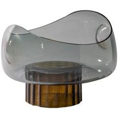 Silice Vase, Blown Glass, Unique 21