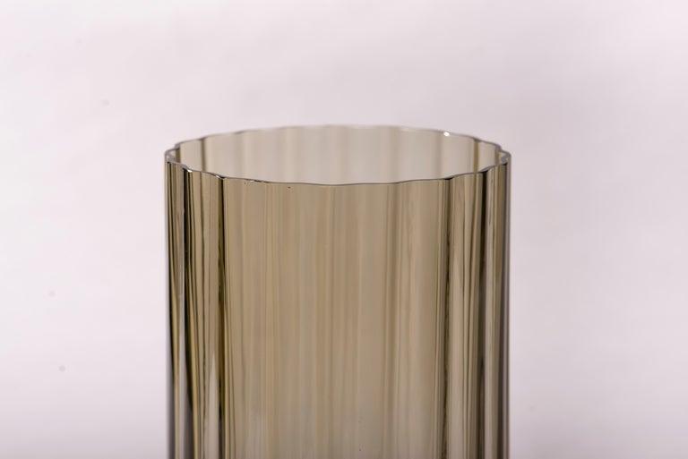 Silice Vase, Blown Glass, Unique 23 For Sale 1