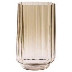 Silice Vase, Blown Glass, Unique 23