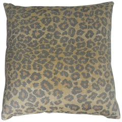 Silk and Down Decorative Pillow