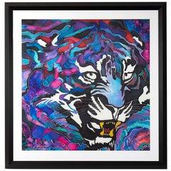 Silk Batik W. Jagger Tiger, 2016