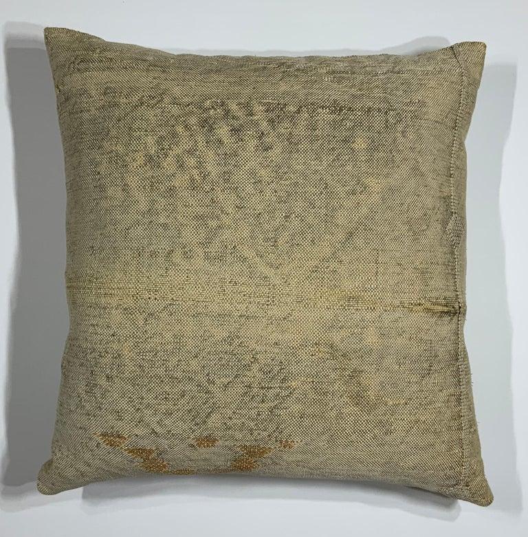 Moroccan Silk Cactus Pillow For Sale