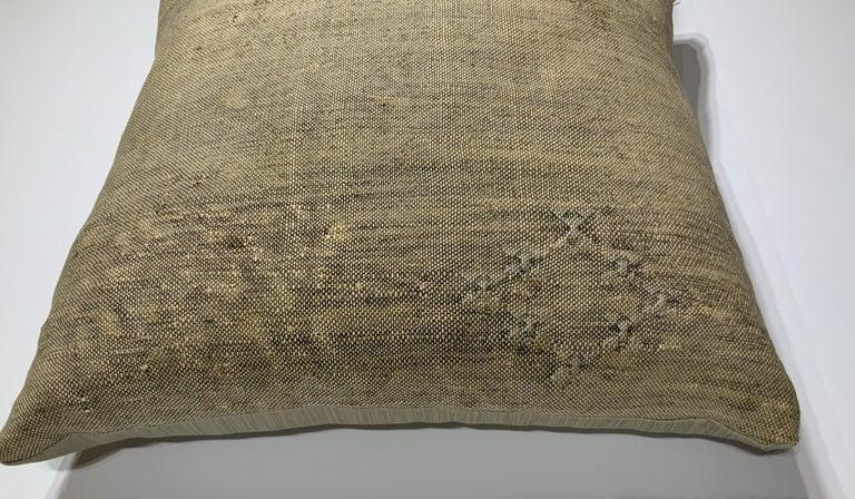 20th Century Silk Cactus Pillow For Sale