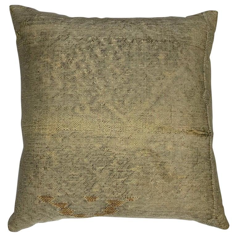Silk Cactus Pillow For Sale