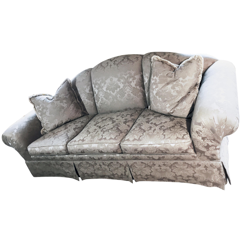 Traditional Silk Damask Sofa Summer Hill Ltd, Hamilton