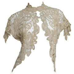 Silk Guipure Lace 1930s Jacket