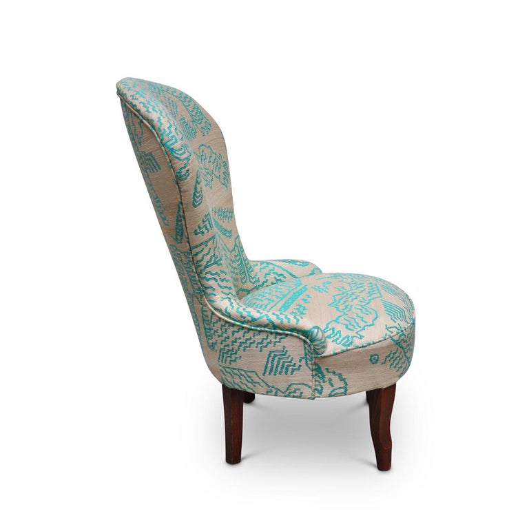 Silk Nonnina Armchair In New Condition For Sale In Milan, IT