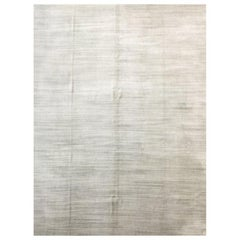 Silk Rug, Soft Collection in Gray