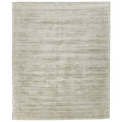 Silk Rug, Whisper Smooth Collection, Whisper Grey Sage