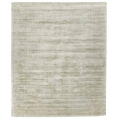 Silk Rug, Whisper Smooth Collection, Whisper Grey Sage