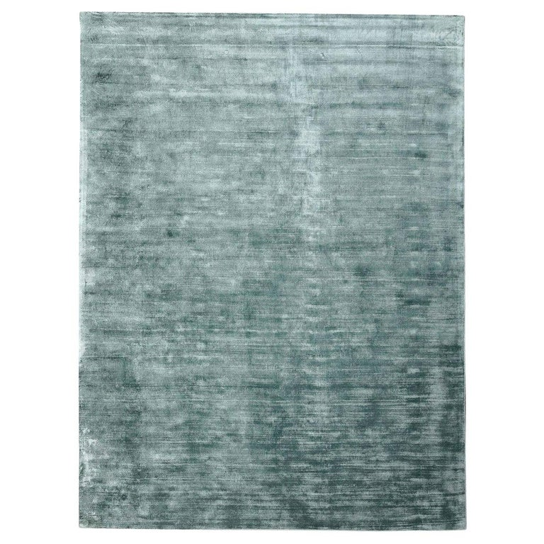 """Silk Rug, Whisper Smooth Collection, """"Whisper Sky Grey"""" For Sale"""