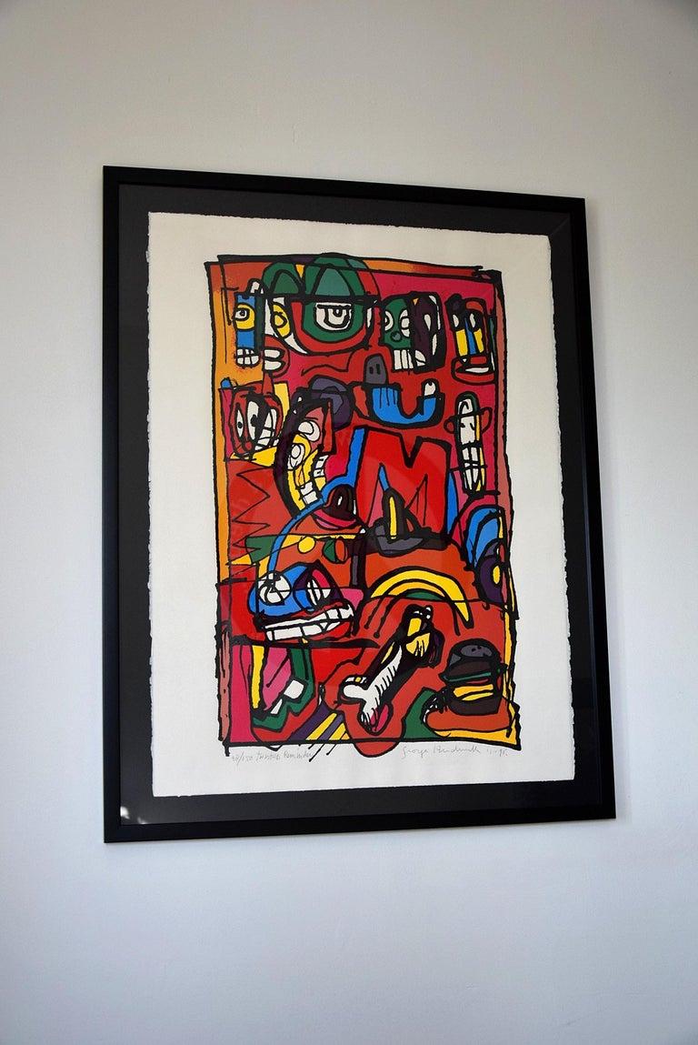 Silk Screen Artwork by George Heidweiller, 1996 For Sale 4