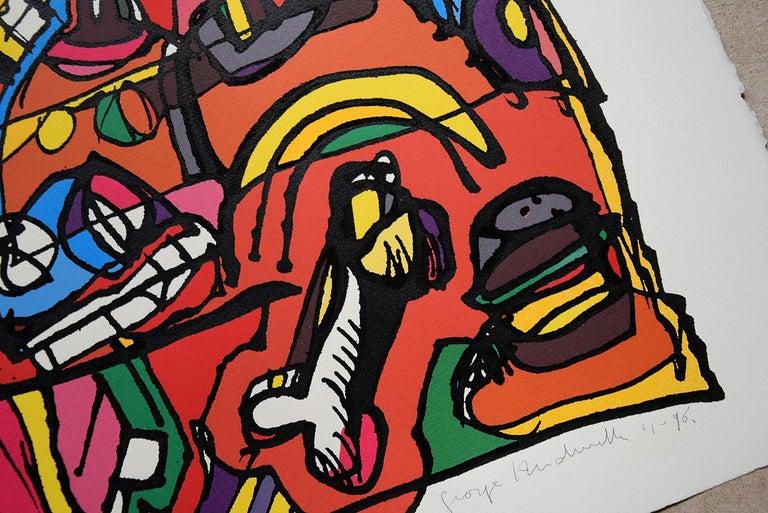 Silk Screen Artwork by George Heidweiller, 1996 For Sale 5