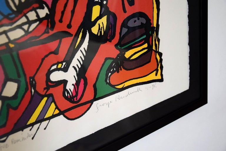 Silk Screen Artwork by George Heidweiller, 1996 For Sale 6