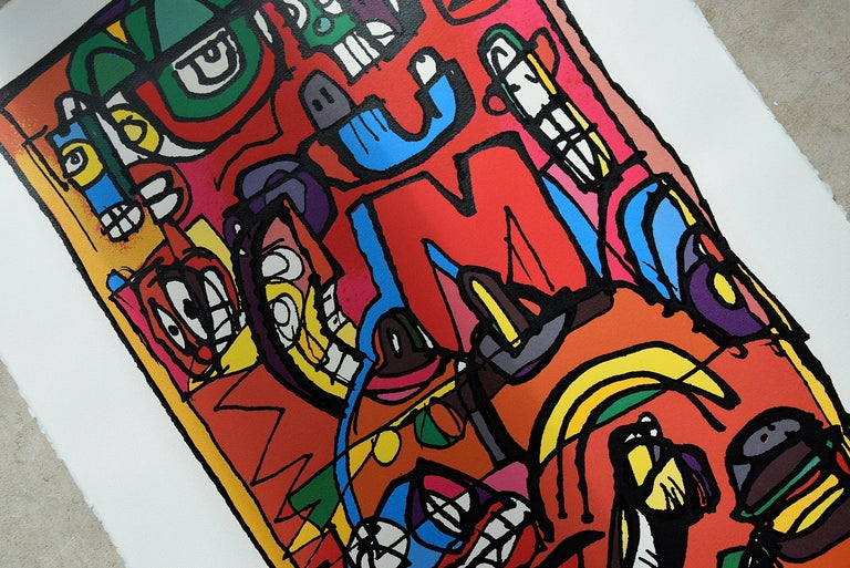 Silk Screen Artwork by George Heidweiller, 1996 For Sale 7