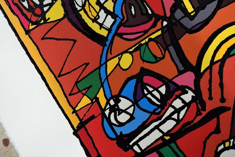 Silk Screen Artwork by George Heidweiller, 1996 For Sale 9