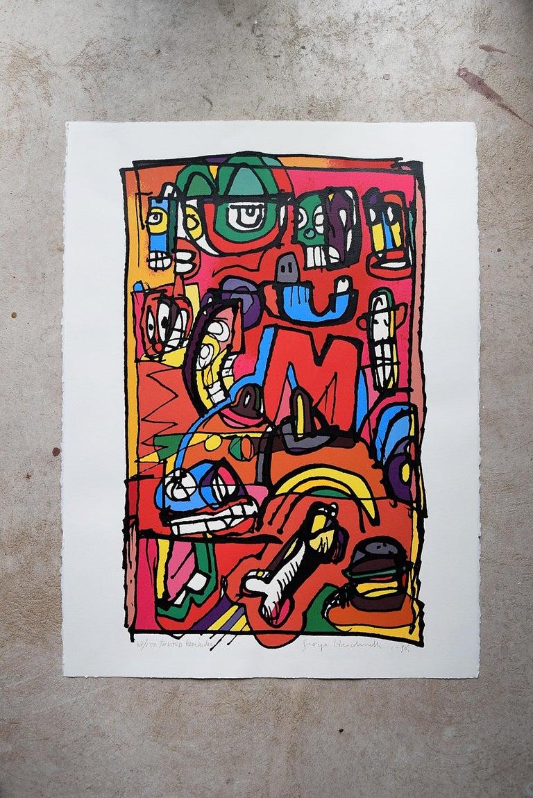 Silk Screen Artwork by George Heidweiller, 1996 For Sale 2