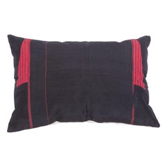 Silk Turkmen Pillow Case Made from a Turkmen Coat, Early 20th Century