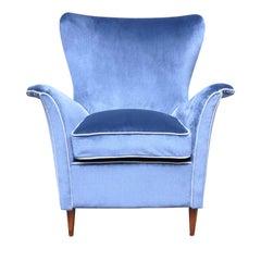 Silk Velvet Armchair