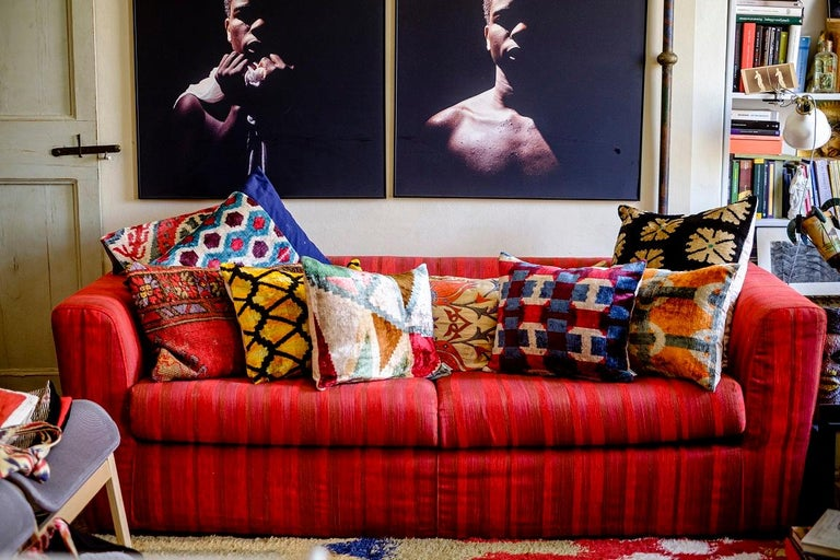 Other Silk Velvet Cushion v100 For Sale