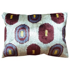 Silk Velvet Cushion V419