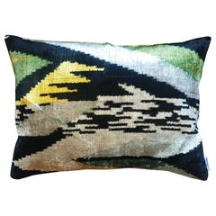 Silk Velvet Cushion V432