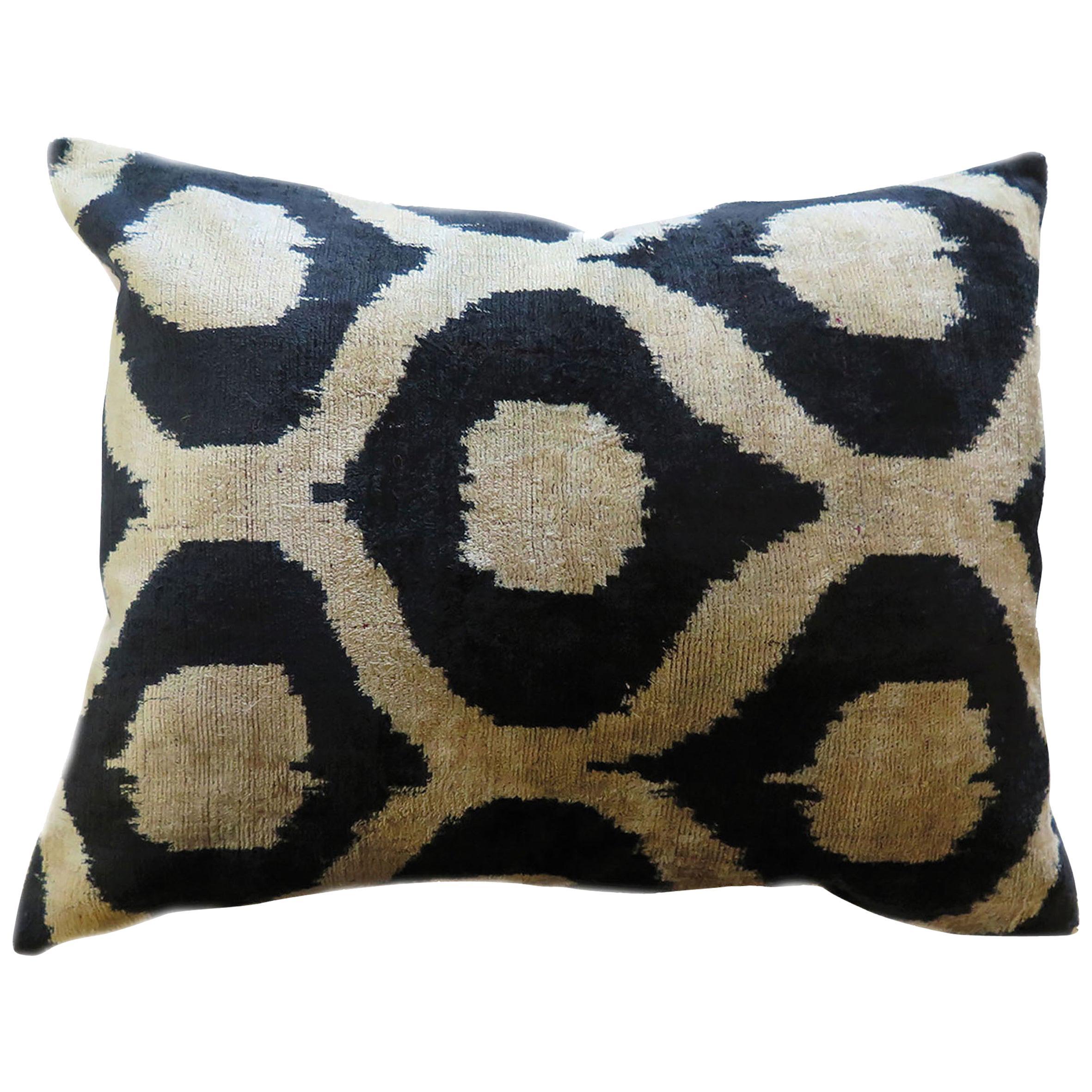 Silk Velvet Evil Eye Pillow Small