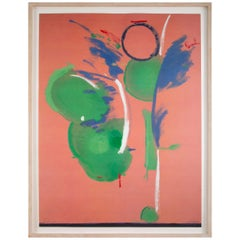 Silkscreen and Offset Lithograph by Helen Frankenthaler Titled Mary Mary