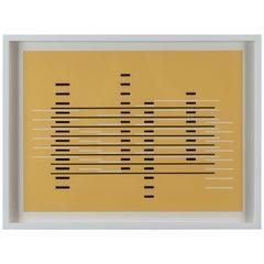 Silkscreen Print from Formulation Articulation by Josef Albers