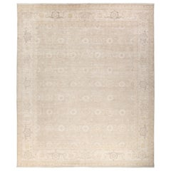 Silky Oushak, Hand Knotted Area Rug
