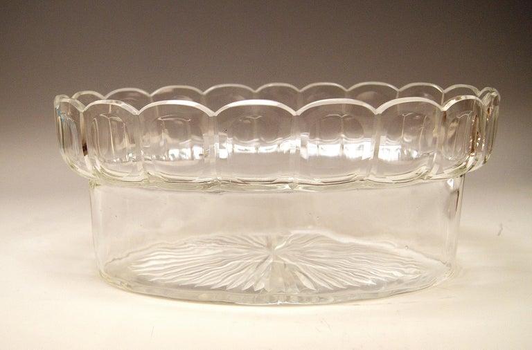 Silver 800 Art Nouveau Bowl Jardinière Rozet Fischmeister Sturm Vienna ca. 1900 For Sale 3