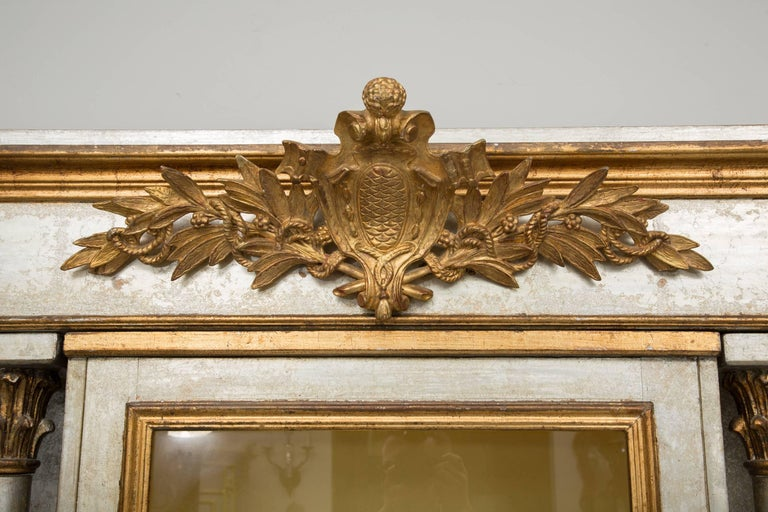 Silver and Parcel-Gilt Italian Cabinet For Sale 4