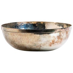 Silver Bowl, Italy, 20th Century
