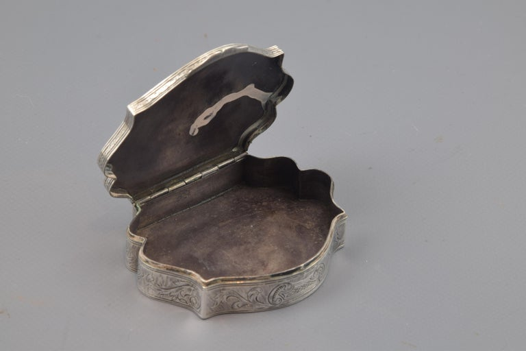 20th Century Silver Box, 19th-20th Centuries For Sale