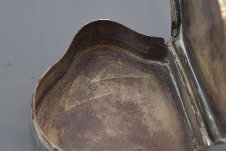 Silver Box, 19th-20th Century For Sale 1