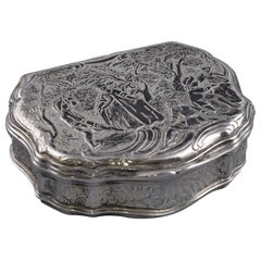Silver Box, Possibly England, 19th Century
