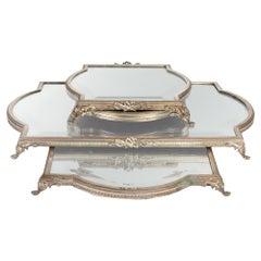 Silver Bronze Table Top