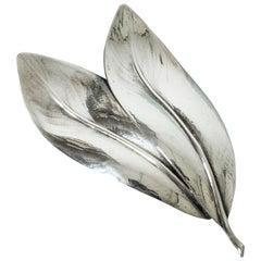 Silver Brooch from Kaplans, Sweden, 1948